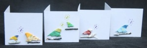 Origami Song Birds Gift Tags